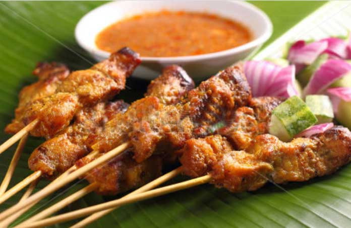 Chicken Satay With Spicy Peanut Sauce Recipes