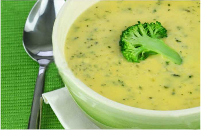 Cream of Broccoli Soup Recipes With Chicken juice