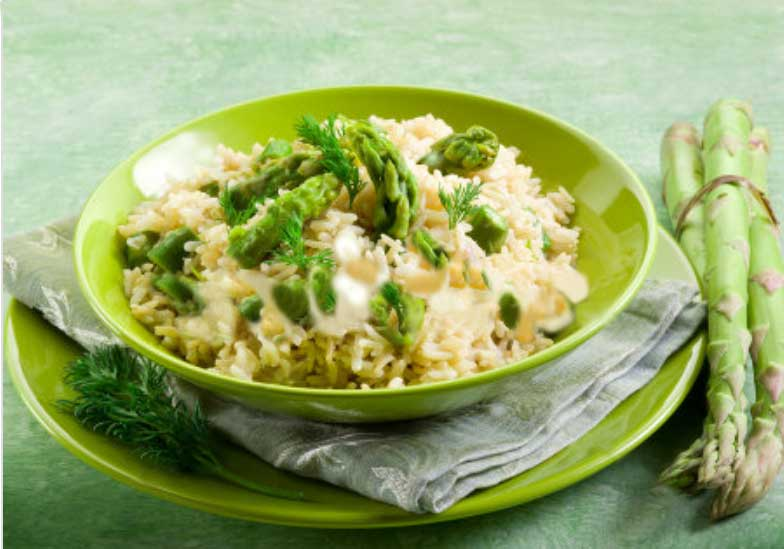 Asparagus Risotto Recipe Image
