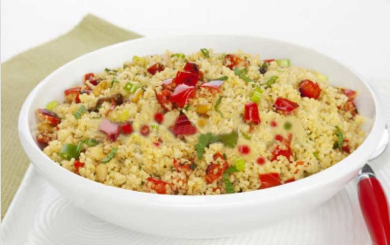 Easy Couscous Salad Recipe with Tomatoes