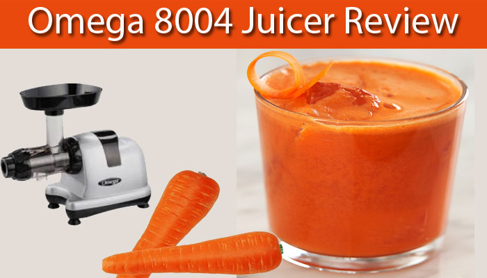 Omega 8004 Juicer Review Image
