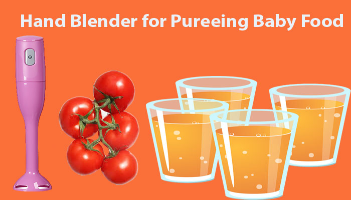 4 Best Hand Blender for Pureeing Baby Food Reviews and Buying Guide