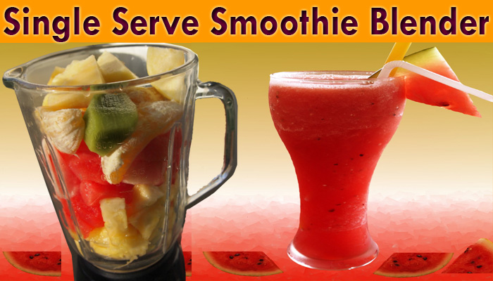 best single serve smoothie blender image