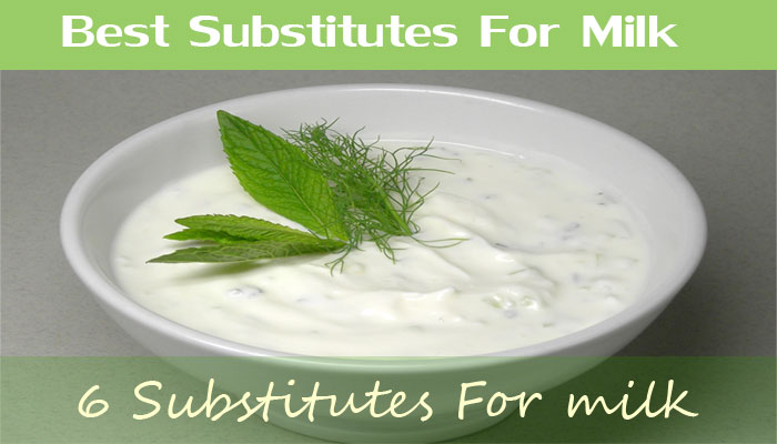 6 Best Substitutes For milk For Cooking