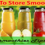 How to store smoothies