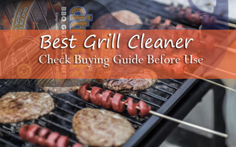 10 Best Grill Cleaners Reviewed To Look For 2019