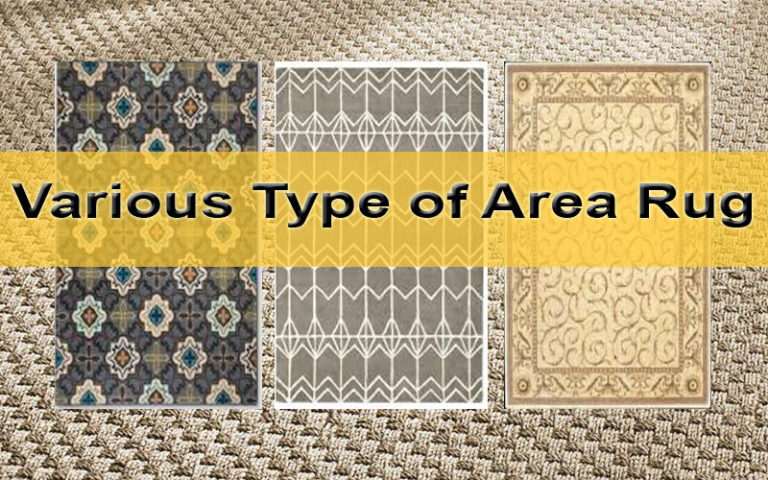 Make Attractive Your Space with Various Type of Area Rugs