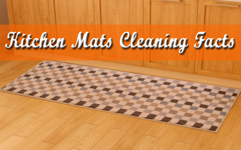 How to clean Kitchen Mats