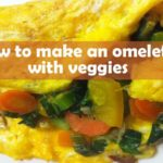 How to make an omelette with veggies