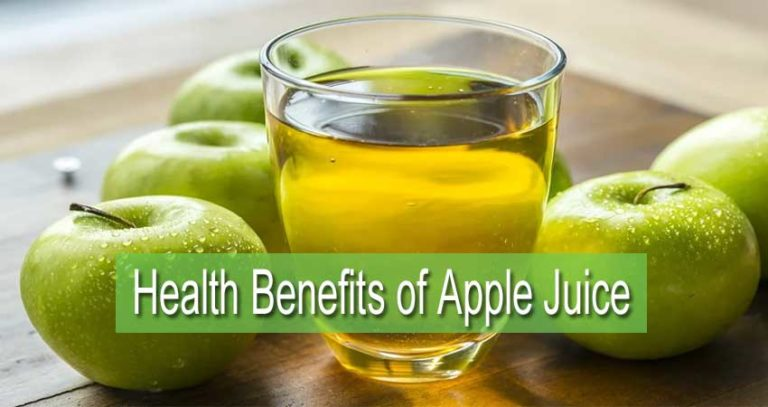 What are the Health Benefits of Apple Juice ?