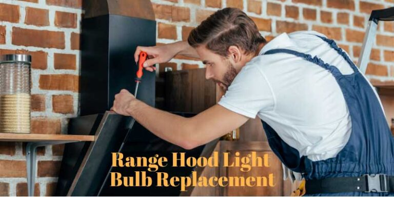 How to Perform Range Hood Light Bulb Replacement