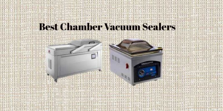 8 Best Chamber Vacuum Sealers Reviewed To Look For In 2021