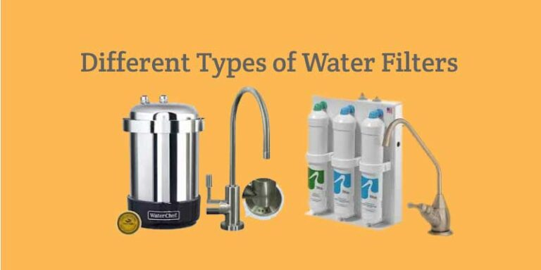 Different Types of Water Filters for Your Kitchen