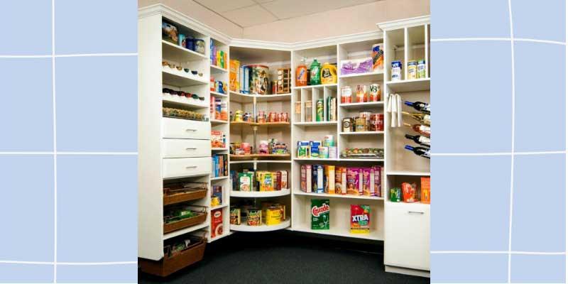 How to organize kitchen pantry