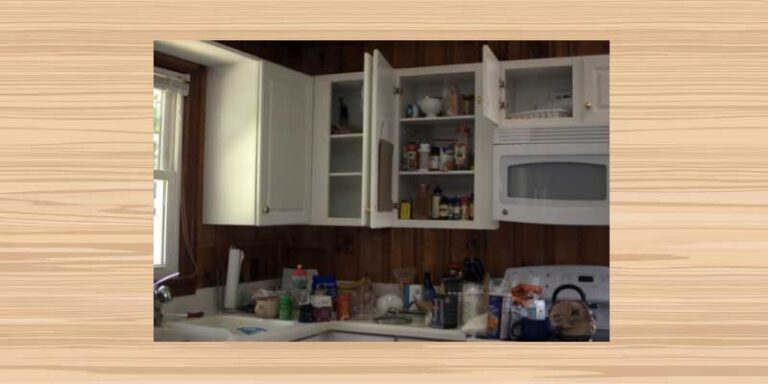 Here is How to Organize a Small Kitchen Without a Pantry