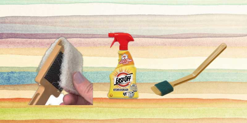 meat slicer cleaning kit