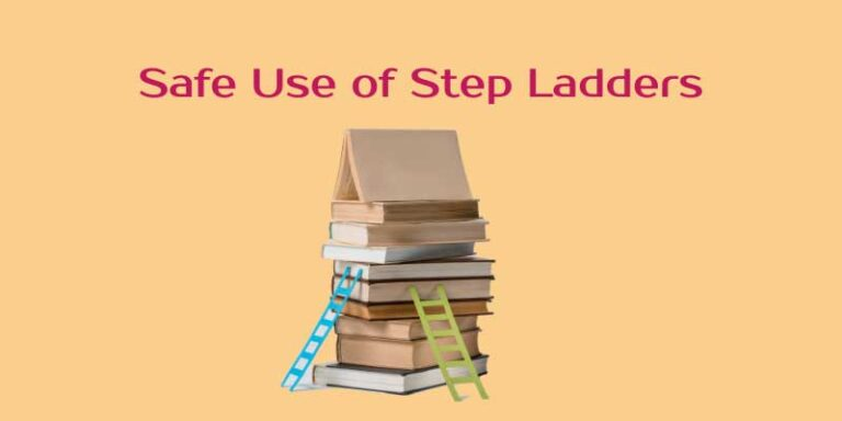 Safe Use Of Step Ladders