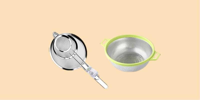 what does a strainer look like