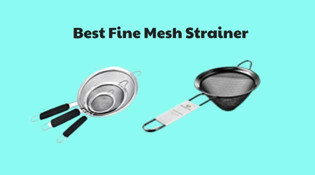 Best Fine Mesh Strainer Reviewed 2021 and Buying Tips