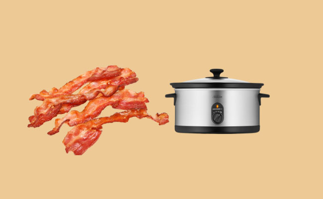 can you cook bacon in a crock pot