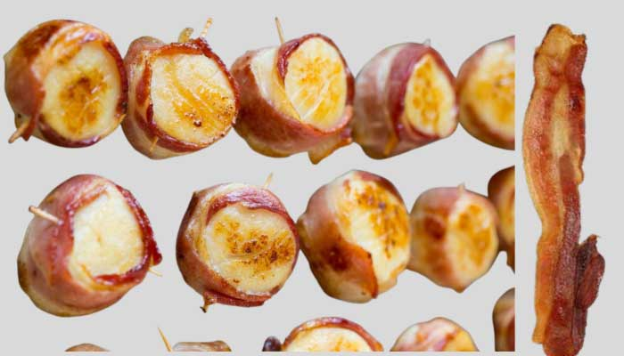 How to cook scallops wrapped in bacon