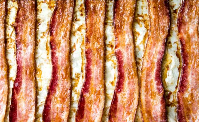 how to store cooked bacon